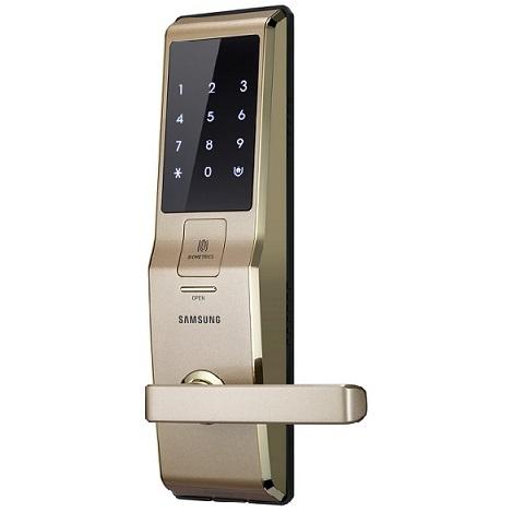 Khóa cửa vân tay điện tử Samsung SHS-H705FBG/EN