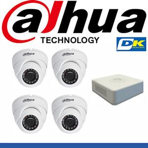 Bộ 4 Camera Dahua
