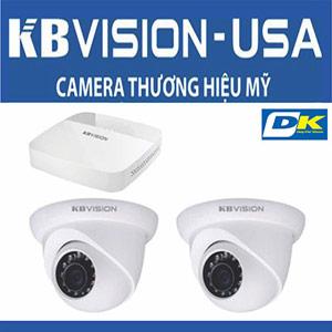 Bộ 2 Camera KBvision 1MP Thương Hiệu Mỹ