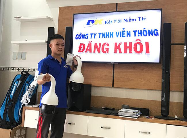 công ty viễn thông Đăng Khôi