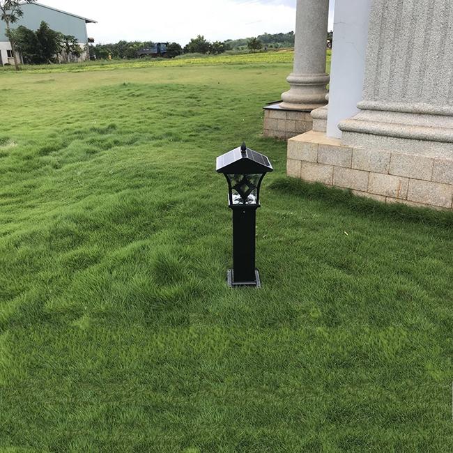 Đèn sử dụng để trang trí sân vườn chỉ cần có cường độ chiếu sáng vừa phải