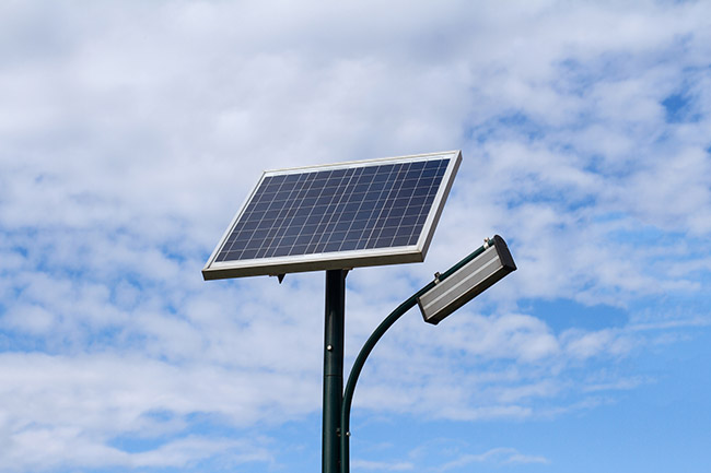 Đèn năng lượng mặt trời ở Bình Phước