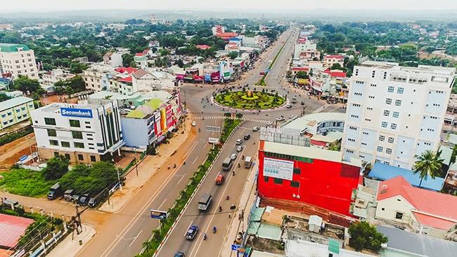 Sự phát triển của thành phố Đồng Xoài tỉnh Bình Phước ngày nay