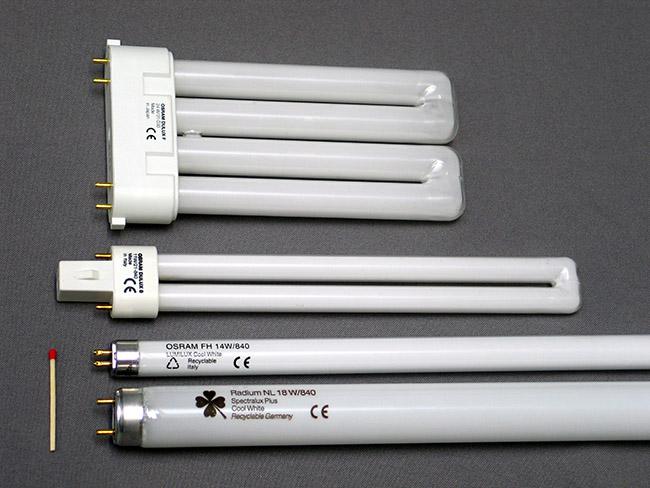 Đèn huỳnh quang có chứa thủy ngân bên trong nên rất nguy hiểm nếu bị vỡ