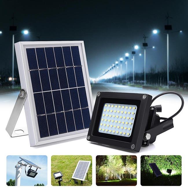 Mẫu đèn đường năng lượng mặt trời phổ biến