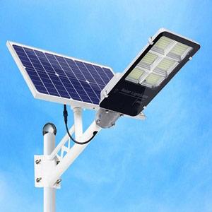Đèn đường Led năng lượng mặt trời 120W ST120