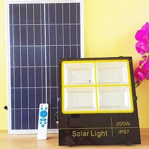 Đèn 200w năng lượng mặt trời