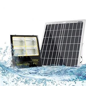 Đèn pha Led năng lượng mặt trời 200W